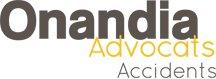 Indemnització per accident de trànsit|Onandia Advocats Barcelona Logo