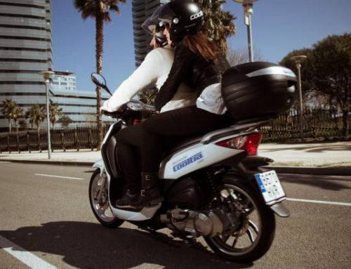 Accident amb moto eCooltra