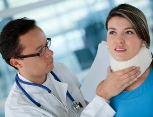Indemnització per seqüeles i fuetada cervical