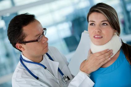 Indemnització accident transit amb fuetada cervical